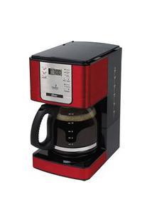 Cafeteira Oster Flavor Vermelha Programável 110V