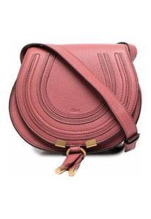 Chloé Marcie Crossbody Bag - Rosa