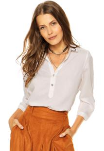 Camisa Enfim Lisa Off-White