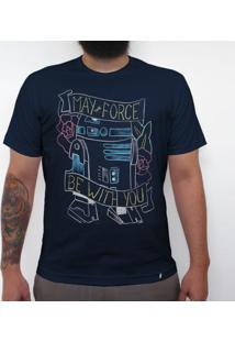May R2D2 - Camiseta Clássica Masculina