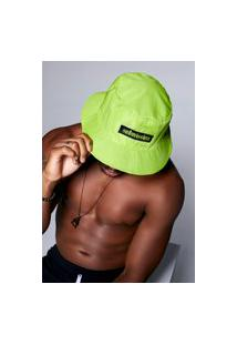 Chapéu Bucket Submission Verde Neon