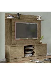 Estante Para Tv Até 52'' 2 Portas De Correr Es230 Wood - Decibal Móveis