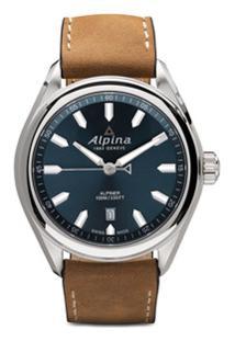 Alpina Relógio Alpiner 42Mm Com Quartzo - Blue