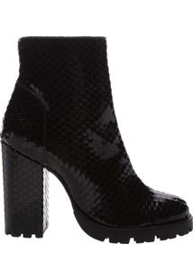 Bota Bright Snake Black | Schutz