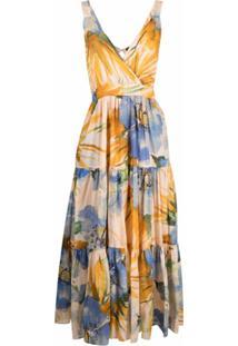 Twinset Camisola Com Estampa Floral - Amarelo