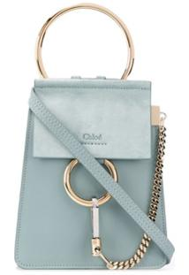 Chloé Faye Mini Bag - Azul