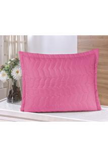 Porta Travesseiro Guga Tapetes Avulso Com Debrum Pink - Rosa - Dafiti