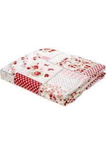 Kit De Colcha Casal Com Porta Travesseiros Andrezza Rosa
