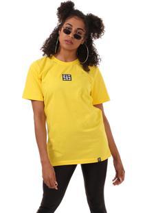 Camiseta Icon Box Synthetic Inc. - Sync - Amarela
