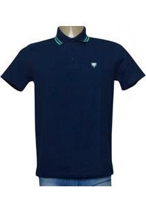 Camisa Masc Cavalera Clothing 03.01.0642 Azul Aco/Verde