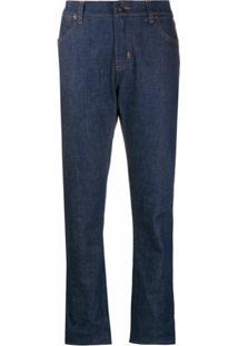 Tom Ford Calça Jeans Reta - Azul
