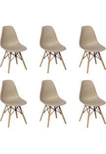 Cadeira E Banco De Jantar Impã©Rio Brazil Charles Eames Eiffel - Incolor/ - Dafiti