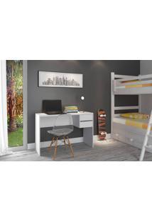 Mesa De Escritório Atualle Inovare 5110R-158 Branco Fosco Se