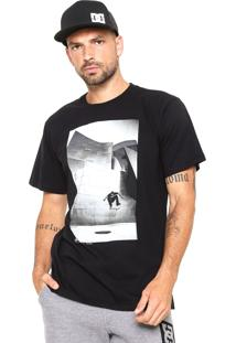 Camiseta Dc Shoes Tiago Switch Flip Preta