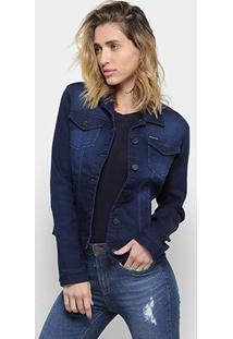 Jaqueta Jeans Calvin Klein Trucker Feminina - Feminino