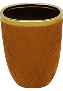 Vaso Decorativo De Cerâmica Smed