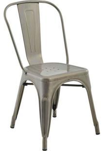Cadeira De Jantar Iron Vintage Aço