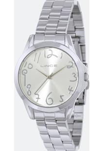 Kit Relógio Feminino Lince Lrmh124L-Kx39S2Sx Analógico 5Atm + Conjunto Semijóia