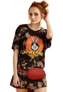 Camiseta Bandup! Feminina Looney Tunes Logo Feminina - Feminino