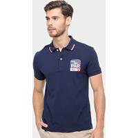 3917494c6f8 Camisa Polo Lacoste Piquet Fit Paris Masculina - Masculino