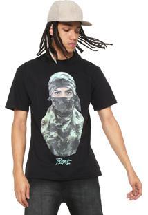 Camiseta Blunt Thug Military Preto