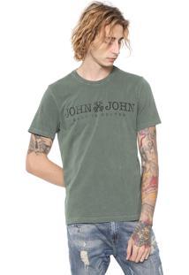Camiseta John John Basic Verde