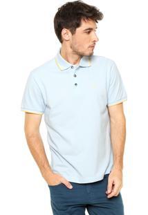 Camisa Polo John John Slim Azul