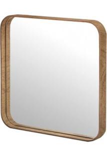 Espelho Yumi Mel Quadrado Medio 45Cm - 61225 - Sun House