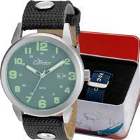 981566bada Relógio Condor Masculino Troca Pulseiras Co2115Umtdy C