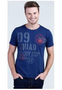 Camiseta Masculina Estampada Manga Curta Eagle Brasil