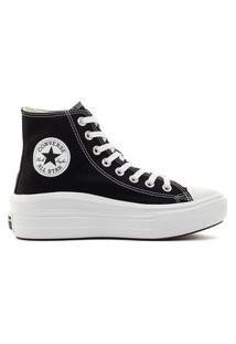 Tênis Converse Chuck Taylor All Star Move Hi Preto Ct15460001/568497C.33