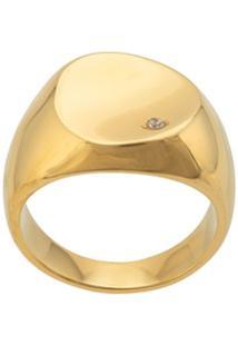 Nialaya Jewelry Polished Finish Ring - Dourado