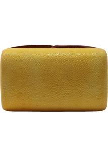 Bolsa Clutch Veleno Arraia Amarela