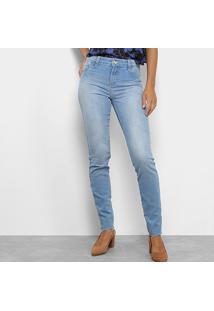 11b672c01 ... Calça Jeans Skinny Coca-Coca Estonada Cintura Alta Feminina - Feminino