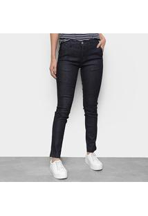 Calça Jeans Lacoste Cigarrete Feminina - Feminino