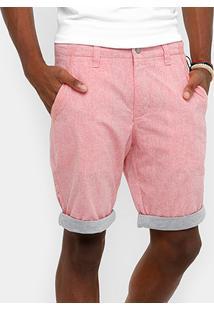 Bermuda Calvin Klein Mesclada Masculina - Masculino