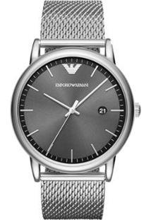 Relógio Emporio Armani Feminino Luigi - Ar11069/1Pn Ar11069/1Pn - Feminino-Prata
