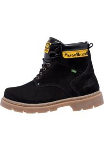Bota Couro Bell-Boots Adventure Black