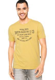 Camiseta Triton Original Amarela