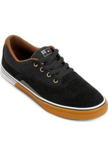 Tênis Dc Shoess Sultan S - Masculino-Preto+Branco