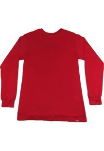Camiseta Outlawz Longsleeve Featured Vermelha