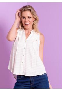 9be309bed Camisa Classico Linho feminina