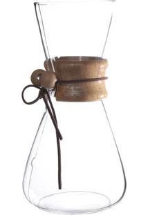 Cafeteira Kenya Drip & Serve- Incolor & Marrom Clarom.Cassab
