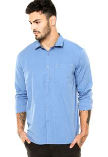 Camisa Billabong M/L All Day Azul