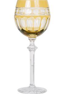 Taça De Cristal Lodz Para Água De 480 Ml – Âmbar Báltico