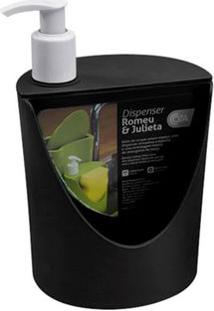 Dispenser Romeu & Julieta Preto 600Ml 10837/0008 - Coza - Coza