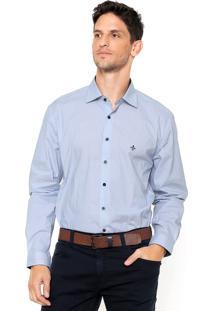 Camisa Dudalina Poás Azul