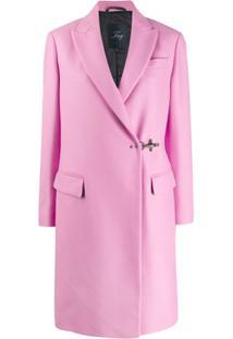 Fay Wrap Style Coat - Rosa