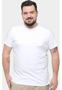 Camiseta Rg 518 Plus Size Relevo Masculina - Masculino