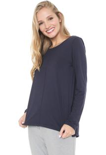 Blusa Liz Easywear Orion Azul-Marinho